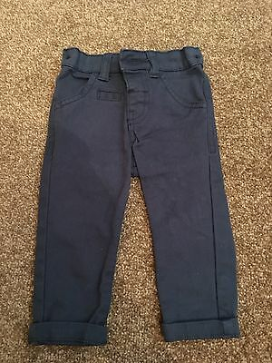 Boys Chino Style Trousers. 3-6 Months