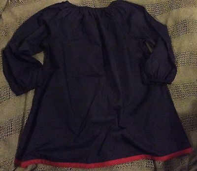 Navy Blue Art Painter's Smock BRAND NEW Size 5-7 - $3 to embroider Child's Name