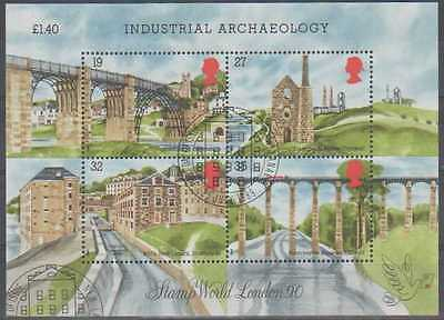 SG:MS 1444a;VFU;1989 Industrial Archaeology