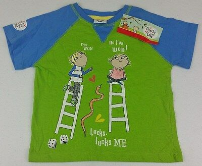 Charlie and Lola Kids T-Shirt ABC Shop - Size: 3 - BNWT A5