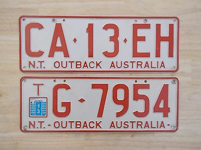 License plate Number plate N/T PASSENGER AND TRAILER