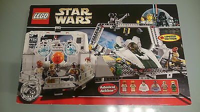 Lego Star Wars, 7754, Home One Mon Calamari Star Cruiser, NEU, OVP, Sammlerstück