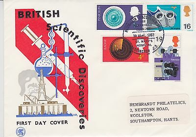 Gb Stamps First Day Cover 1963 British Science Paddington Wessex Rares Postmark