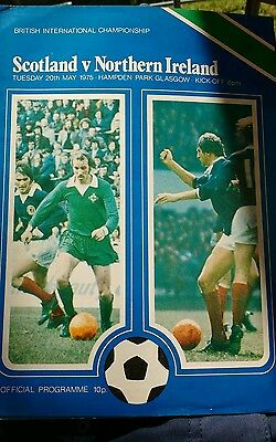Scotland v Northern Ireland season 1974-1975