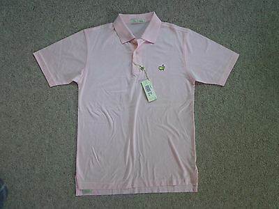 BNWT New Women's Peter Millar Augusta US Masters Pink Medium 12-14 Polo Shirt
