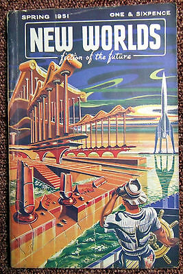 New Worlds science fiction very rare early issue  Vol 3 No.9 Spring 1951