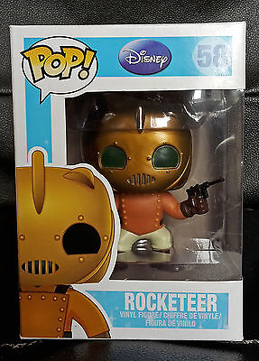 Brand New Funko Pop Vinyl Disney Rocketeer #58 Vaulted & Rare