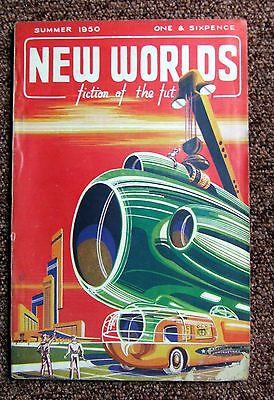 New Worlds science fiction very rare early issue  No.7 Summer 1950