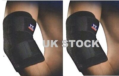 YC Bionix Compression Knee Support Bandage Strap Brace Patella Strain Sports
