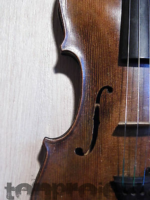 interesting antique  4/4 VIOLIN old fiddle Geige バイオリン violon 小提琴