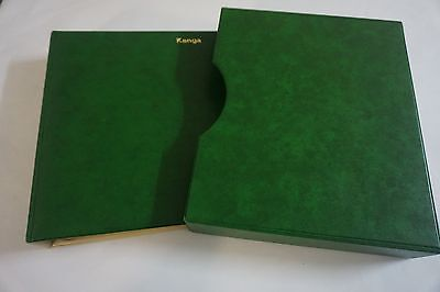 Kanga stamp album with slip case