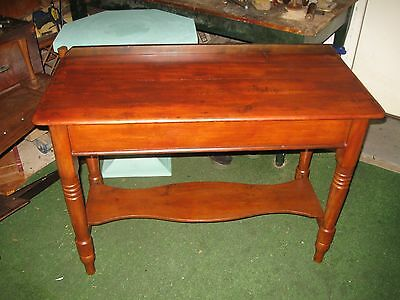 Antique Pine Side Or Display Table