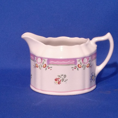LAURA ASHLEY - Milk Jug / Creamer - ALICE - Florals with Pink Trimmings - VGC