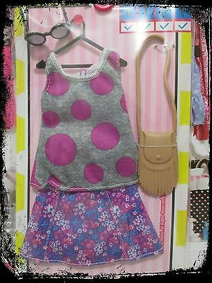New Mattel 2017 Barbie Complete Look Fashion Pack Dots & Flowers