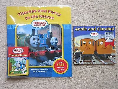 Thomas The Tank Engine Book Bundle -2 Items- Brand New