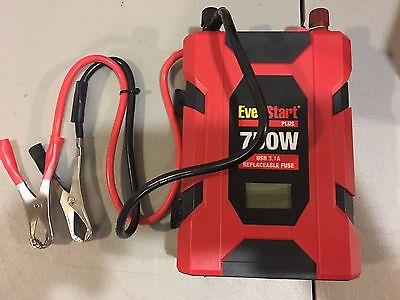 Everstart Plus 70003m 750w Power Inverter LCD Battery