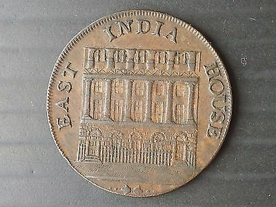 East India House Halfpenny Token 1793 (British)