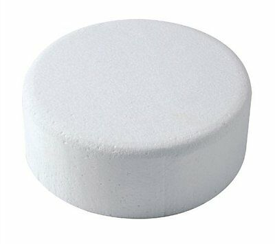 "Cake Dummy - Round - 8"" Diameter x 3"" High - Chamfered Edge"