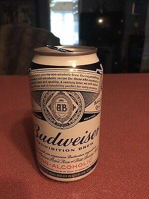 Budweiser Proabition Beer Can Sold Only In Canada