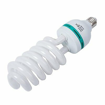 150W Photography Compact Fluorescent CFL Daylight Balanced Bulb with 5500K Color
