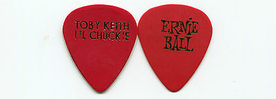 TOBY KEITH 2003 Shock 'N' Y'all Tour Guitar Pick!!! LIL CHUCKIE concert stage