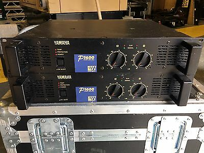 Yamaha P1600 Pro Audio Power Amplifier In Good Condition
