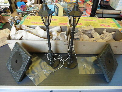 VINTAGE  G scale  LGB 5050 Street Station Light Lamps x 2 boxed