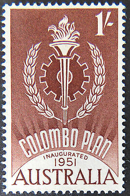 1961 Australian Pre Decimal Stamps: 10th Anniversary of Colombo Plan-Single MNH