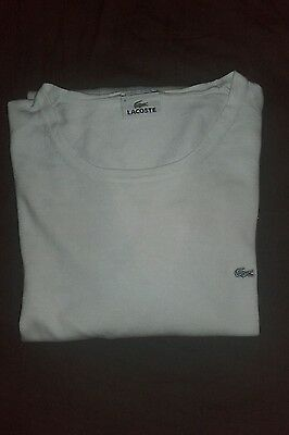 pull lacoste homme coton cachemir taiille 6