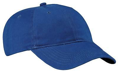 Port & Company CP77 Mens Brushed Twill Low Profile Cap NEW