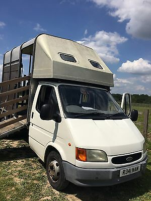Ifor Williams 3.5T Ford Transit Horse Box 1900 kilo payload!