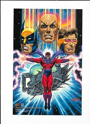 Set Of 5 1994 Fleer Ultra Prints Box Toppers Wolverine Magneto Storm Beast