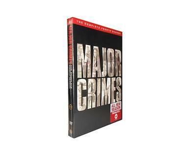 Major Crimes: The Complete Fourth Season 4 (DVD, 2016, 5-Disc Set)