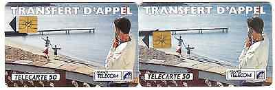 2 French used phonecards.