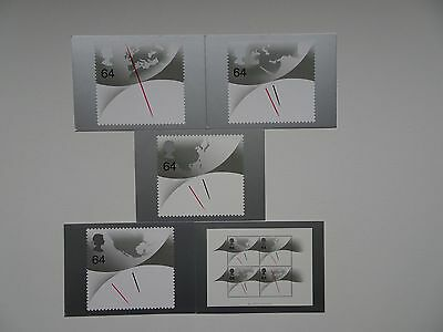 PHQ Cards PSM02 - Millemium Timekeeper (complete set of 5) - Mint