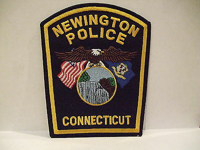 police patch  NEWINGTON POLICE CONNECTICUT