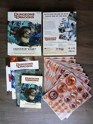 Monster Vault - Dungeons & Dragons D&D Essentials - Like New Unused Unpunched