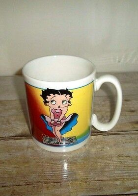 Betty Boop Mug Subway Grate Cool 1997 King Features Syndicate Simson Giftware