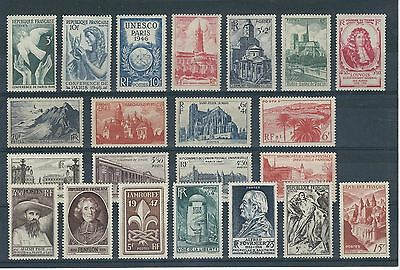TIMBRES FRANCE NEUFS*/** ANNEES 1946-1947 (Lot 36)