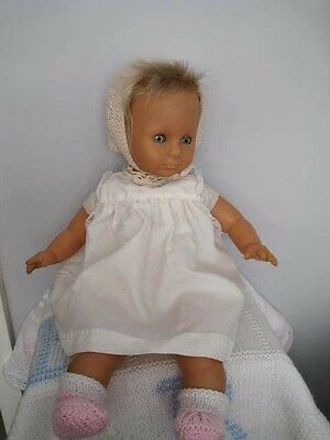 Beautiful Vintage Vinyl/Soft Body Baby Doll Famosa Made in Spain