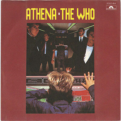 "1982 (7"") THE WHO Athena / A Man Is A Man (Pop) Polydor"