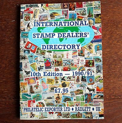 International Stamp Dealers Directory – 1990/91 (St-4)