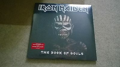 iron maiden vook of souls limited edition triple vinyl new sealed