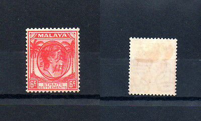 Japanese Occupation of Malaya: Unissued 6c chop MM Sold 'AS IS'