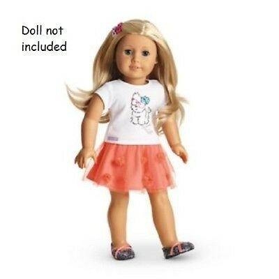 American Girl Truly Me Coconut Cutie Outfit for Dolls  NEW in AG Box