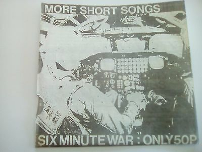 Six Minute War  More short songs EP