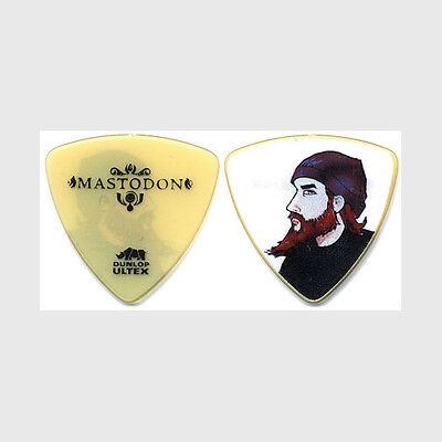 Mastodon Troy Sanders authentic 2010 Crack the Sky tour custom stage Guitar Pick