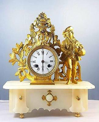Antique French Mantel Clock JAPY FRÈRES 1855
