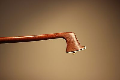 """A Very Interesting Old Viola Bow Stamped """" PAESOLD"""" !!!"""