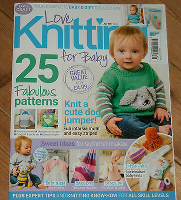 Love Knitting for Baby Magazine Issue 49 July 2017
